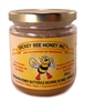 Honey butter with cinnamon 300 g glass jar