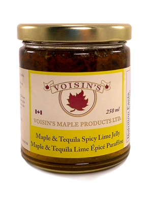 Maple & Tequila Spicy Lime Jelly