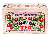 Cranberry Black Tea in a Gift Wood Box