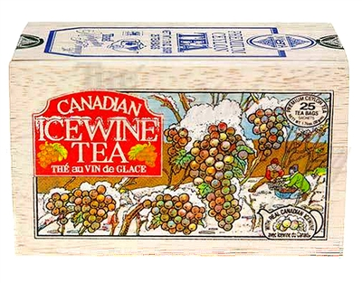 Icewine Black Tea in a Gift Wood Box