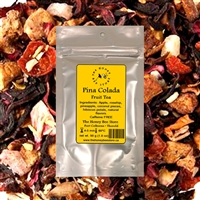Pina Colada Fruit Tea, The Honey Bee Store Niagara, Canada