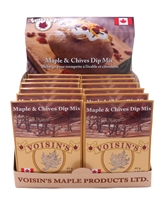 Maple & Chives Dip Mix, Voisins maple