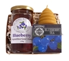 Canadian Blueberry Honey Holiday Gift Set.