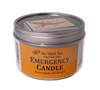 EMERGENCY TIN CANDLE Beeswax