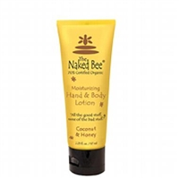 The Naked Bee Moisturizing Coconut & Honey Body Lotion 2.25 oz /67 ml.