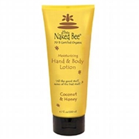 The Naked Bee Moisturizing Coconut & Honey Body Lotion 6.7 oz /200 ml.