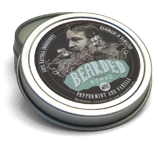 Peppermint and Vanilla Beard & Moustache Wax, Canada