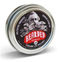 Cinnamon and Bergamot Beard & Moustache Wax, bearded nomad, ontario