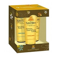 The Naked Bee Gift Set: Shampoo + Lotion + Body Wash