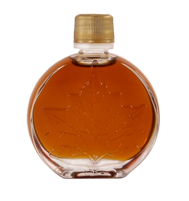 "50 ml Decorative ""Medallion"" round glass bottle"