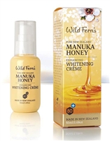 Manuka Honey Enhancing Whitening Facial Cream by wild ferns, Canada Ontario. The Honey Bee Store