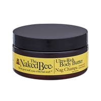 The Naked Bee Nag Champa Moisturizing Sandalwood Ultra-Rich Body Butter