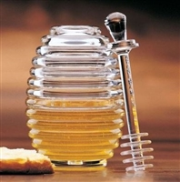 Honey Jar With Server, Prodyne Canada