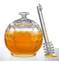 Honey Jar With Dripper, Prodyne Canada