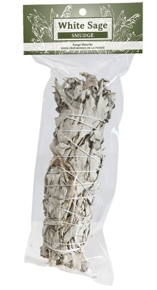 WHITE SAGE STICK for SMUDGING, Large, 23 cm / 9 inches