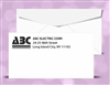 "# 6-3/4"" Regular Envelopes, 1 color print (Black), # 10020P"