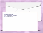 "# 6-3/4"" Regular Envelopes, 1 PMS color print, # 10020PMS"