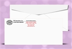 # 9 Regular Envelopes, black + 1 PMS color print, # 10036P2