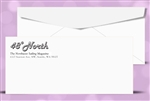 # 10 Printed Regular Envelopes, 1 color print, (Black) # 10040P