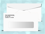 # 6-3/4 Window Envelopes, 1 color print (Black), # 11020P