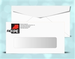 # 6-3/4 Window Envelopes, black + 1 PMS color print, # 11020P2