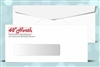 # 9 Window Envelopes, black + 1 PMS color print, # 11036P2