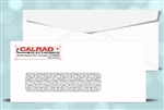# 9 Window Envelopes - security tint, black + 1 PMS color print, # 11036TP2