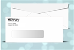 # 10 Printed Window Envelopes, 1 color print (Black), # 11040P