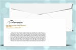# 10 Window Envelopes, with inside security tint, 2 color print, # 11040TP2