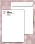 9 x 12 Catalog Envelopes, black + 1 color print, #20040P2
