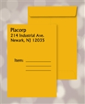 6 x 9 Brown Kraft Catalog Envelopes, Black print, # 25020P