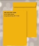 10 x 13 Brown Kraft Catalog Envelopes, Black print, # 25060P