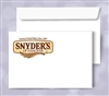 6 x 9 Booklet Envelopes, 2 PMS color print, # 30020PMS2
