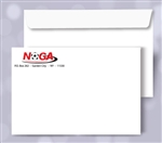 9 x 12 Booklet Envelopes, black + 1 PMS color print, #30040P2
