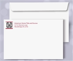 10 x 13 Booklet Envelopes, black + 1 PMS color print, #30060P2