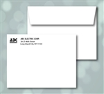 A-6 Announcement Envelopes, 1 color print (Black), Item # 50060P