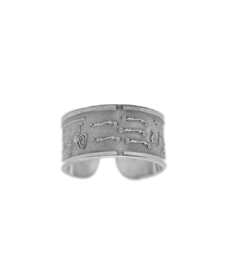 BioSignature Ring in Sterling Silver (Large) (Version 2019)