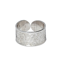 BioSignature Ring in Sterling Silver (Large)