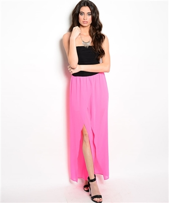 Black Pink Jumpsuit