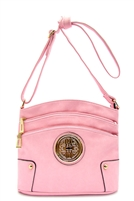 Light Pink Designer Messenger Bag