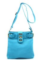 Light Blue Messenger Bag