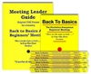 Meeting Leader Guide (Original Format ) and 20 Back to Basics Books