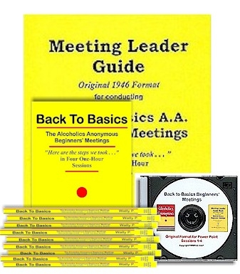 Meeting Leader Guide (Original Format ), 10 Back to Basics Books and PowerPoint 2019 CD