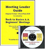 Meeting Leader Guide (Original Format) and PowerPoint 2019 Presentation CD
