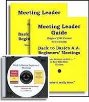 Back to Basics Meeting Leader Guides-2 plus PowerPoint 2019 Presentation CD