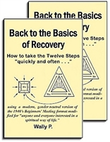 Back to the Basics of Recovery - An updated version of the 1940's Beginners' Meetings (2 Book Pack)
