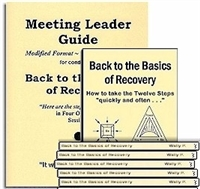 Back to the Basics of Recovery - Meeting Leader Guide and 10 Back to the Basics of Recovery Book Package