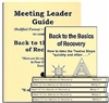 Back to the Basics of Recovery Meeting Leader Guides and 10 Back to the Basics of Recovery Books
