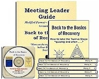 Back to the Basics of Recovery Meeting Leader Guide + PowerPoint 2019 CD + 10 Books
