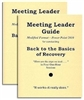 Back to the Basics of Recovery Meeting Leader Guides - 2 Guides